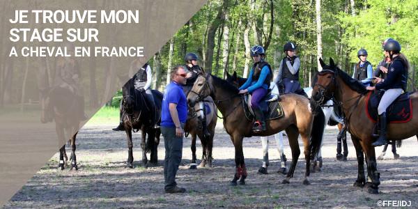 Je trouve mon stage sur À cheval en France