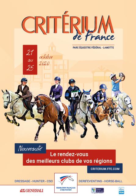 Affiche du Critérium de France 2020