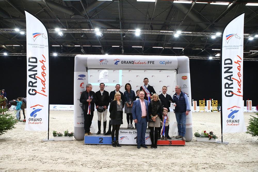 L'équipe de France médaillée bronze au Concours complet de Tryon 2018